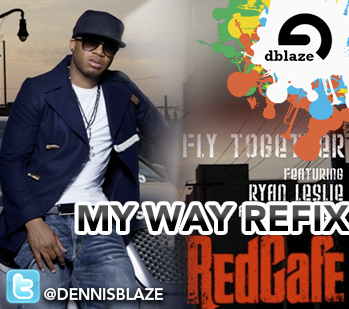 "USHER V. RYAN LESLIE, RED CAFE ""FLY TOGETHER"" (DENNIS BLAZE REHYPE)"