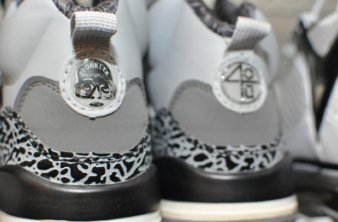 Air Jordan Spizikes. Gray/black.