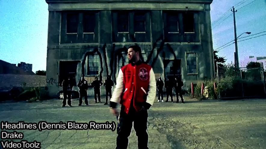 [VIDEO REMIX DOWNLOAD] DRAKE – HEADLINES – DENNIS BLAZE DUBSTEP REFIX. VIDEO BY @armedwitharmony