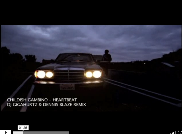 [VIDEO REMIX] CHILDISH GAMBINO – HEARTBEAT @DENNISBLAZE @DJGIGAHURTZ REMIX – FULL #MP4 DOWNLOAD