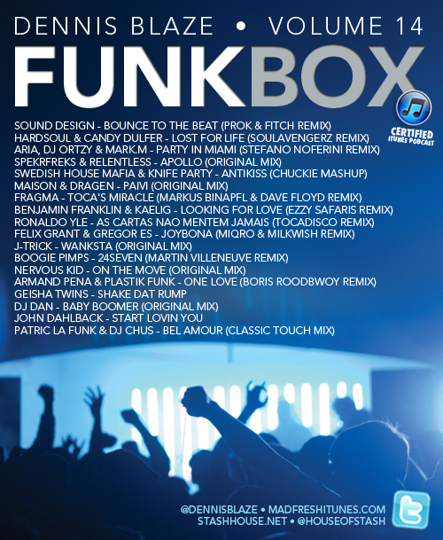 FUNKBOX VOL 14 (DENNIS BLAZE HOUSE MIX) #FULLDOWNLOAD #FUNKYHOUSE #DISCOHOUSE #GLITCHHOUSE