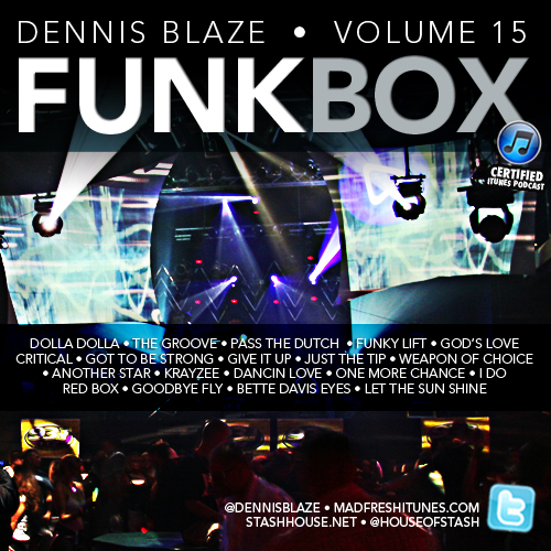 FUNKBOX VOLUME 15 GROOVE SESSION HOUSE MIX BY DENNIS BLAZE #TECHHOUSE #DISCOHOUSE #FULLDOWNLOAD #HOUSEMUSIC