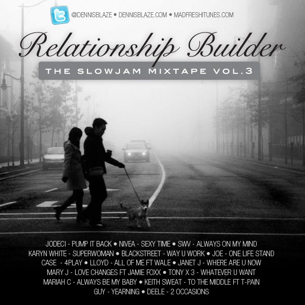 Relationship Builder 3 The Slow Jam Mix Tape by Dennis Blaze #mixtape #slowjams #fulldownload