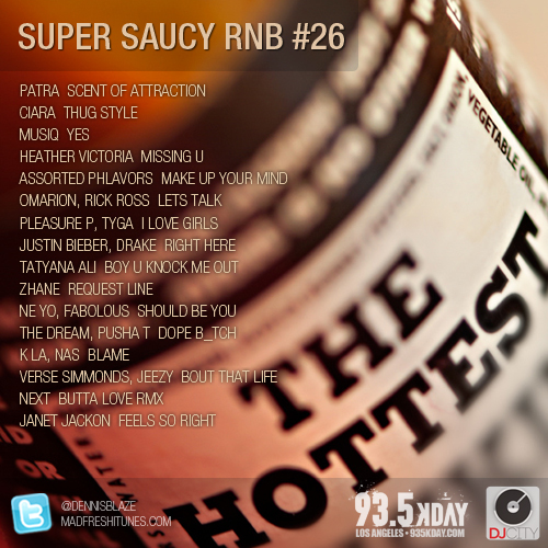 Super Saucy RNB 26 #rnb #mixtape by DENNIS BLAZE #PODCAST #FULLDOWNLOAD