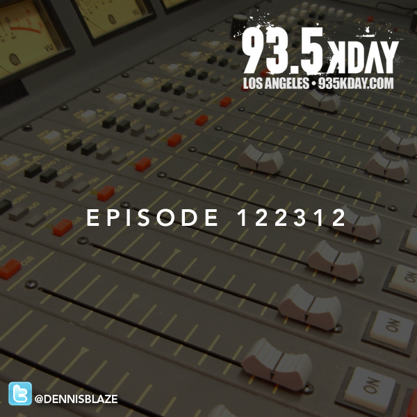 LIVE 93.5 KDAY EPISODE 122321 by DENNIS BLAZE. OVER 2 HOURS IN THE MIX. #FULLDOWNLOAD