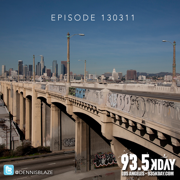 93.5 KDAY LIVE MIX EPISODE 130308