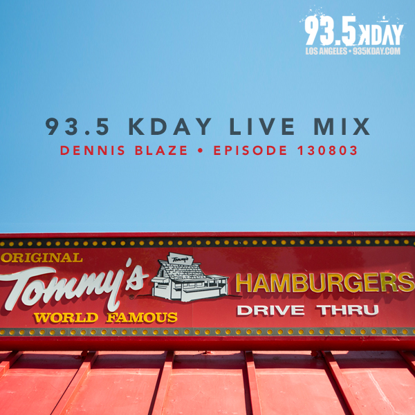 Dennis Blaze live mix on 93.5 KDAY Los Angeles #935kday #podcast #djmix #radio #LA