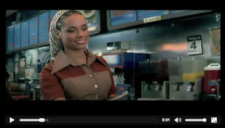 From the video archives: @AliciaKeys v. @OGKeithSweat You Dont Know My Name (Dennis Blaze Rework) #ninjatools