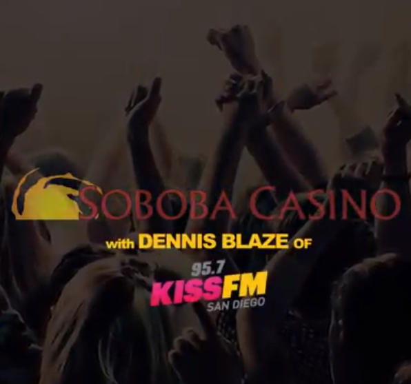 Dennis Blaze Monthly Residency Debut at Soboba Casino Tonight (Jan 16)