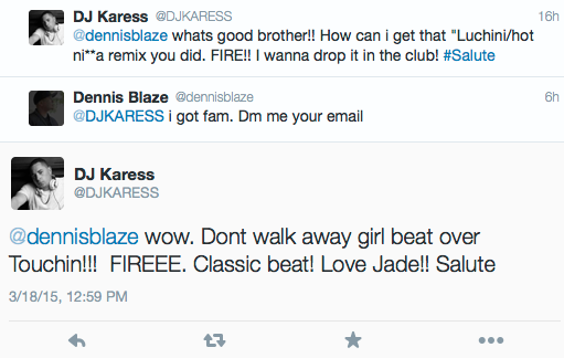 love from dj karess