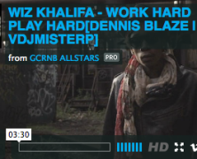 [VIDEO full download] @RealWizKhalifa @djbonics WORK HARD DENNIS BLAZE EDIT. VIDEO BY @vdjmisterp #ninjatools