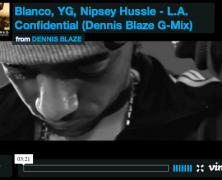 [REMIX VIDEO] @WHOISBLANCO @YG @NIPSEYHUSSLE @LEGENDGARY LA CONFIDENTIAL DENNIS BLAZE REMIX #ninjatools #westcoast