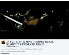 [REMIX VIDEO] Hot off the boards! JAY-Z – CITY IS MINE – DENNIS BLAZE REFIX #NINJATOOLS